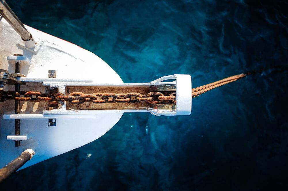 sidrenje plovila Tehnonautika 2