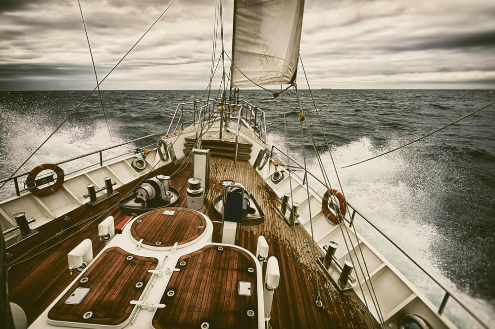 ponašanje na plovilu u slučaju nevremena Tehnonautika 2