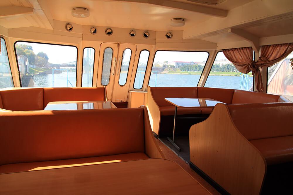 kako opremiti kabinu broda Tehnonautika 1