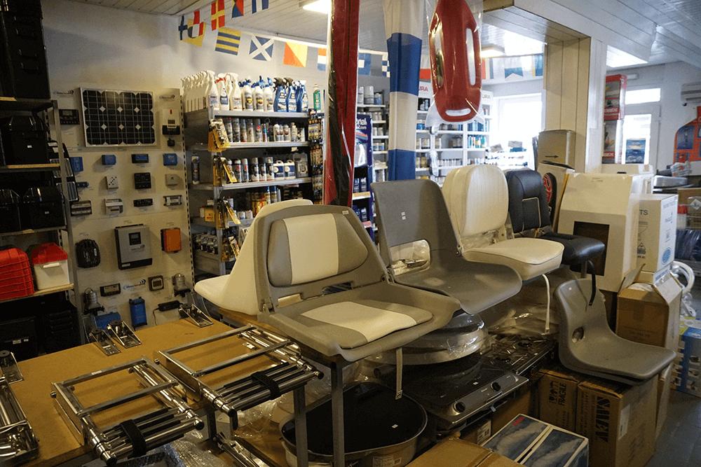 prodaja opreme i delova za plovila Tehnonautika 1