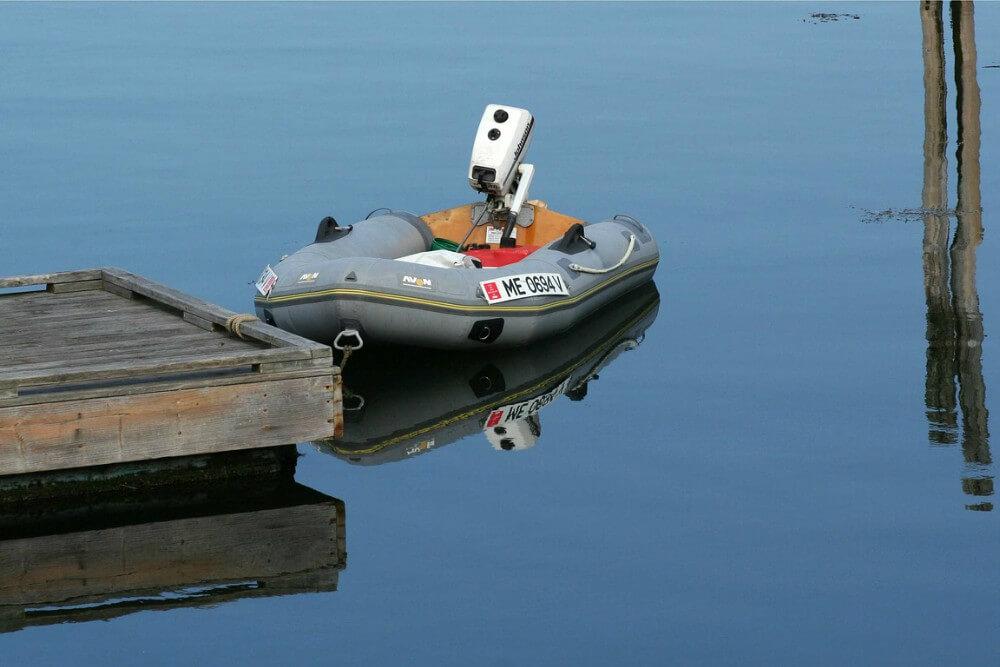 Održavanje gumenih čamaca
