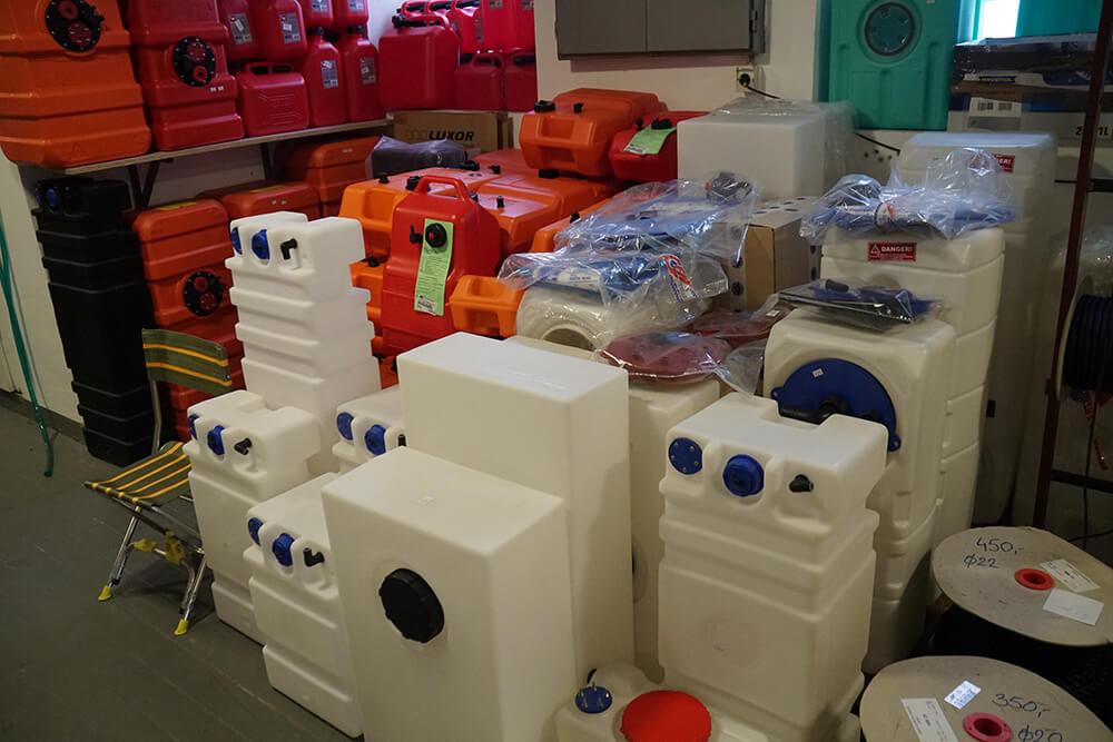 rezervoari za vodu za čamce Tehnonautika 2